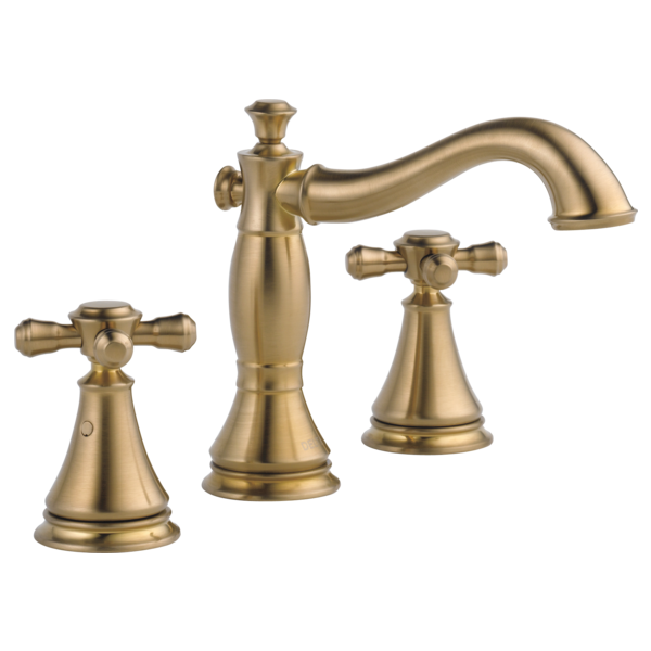 Two Handle Widespread Bathroom Faucet - Less Handles 3597LF-CZMPU ...