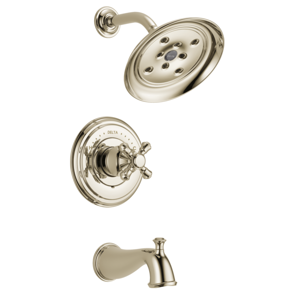 //WSL// DELTA T14497-PNLHP POLISHED NICKEL CASSIDY TUB/SHOWER TRIM LESS HANDLE MC335591