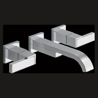 wall mount roman tub faucet.  Wall Mount Vessel Lavatory Faucet Less Handles Roman Tub Trim With Hand Shower T67480 PCLHP HL681