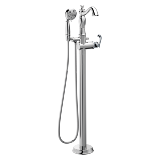Tub Fillers Freestanding Floor Mounted And Hand Shower Delta Faucet