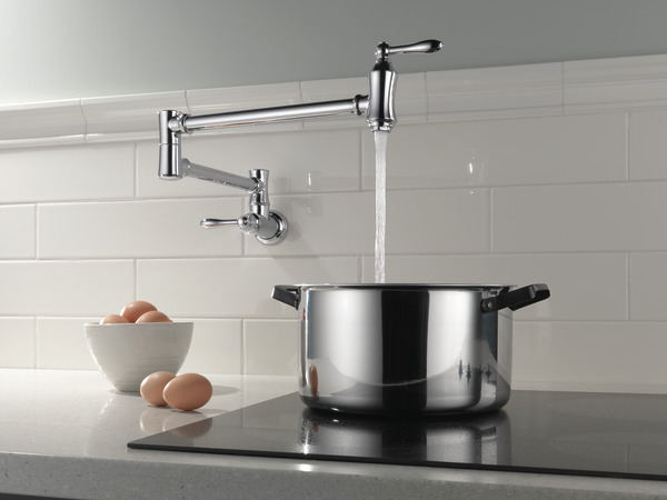 Traditional Wall Mount Pot Filler 1177lf Delta Faucet