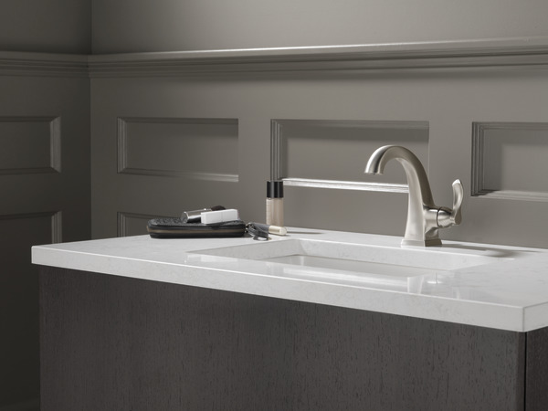Delta Lewiston 25902lf 2 Handle 4 In Centerset Watersense: Single Handle Centerset Faucet 15741LF-SP