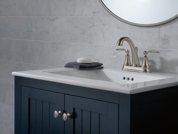 7 Faucet Finishes For Fabulous Bathrooms: Bathroom Faucet 2532LF-SSMPU