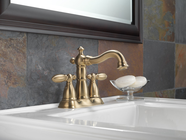 Delta Victorian 555lf Single Handle Centerset Bathroom: Two Handle Centerset Bathroom Faucet 2555-CZMPU-DST