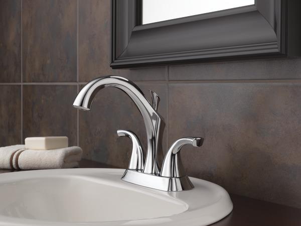 Two Handle Centerset Lavatory Faucet 2592-MPU-DST | Delta Faucet