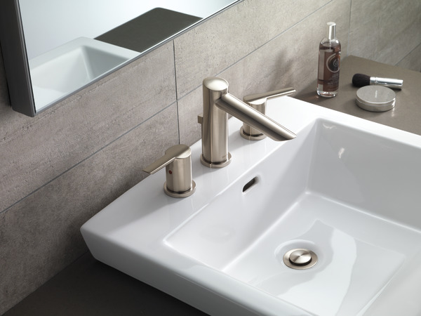Delta Windemere B3596lf Double Handle Widespread Bathroom: Two Handle Widespread Bathroom Faucet 3561-SSMPU-DST