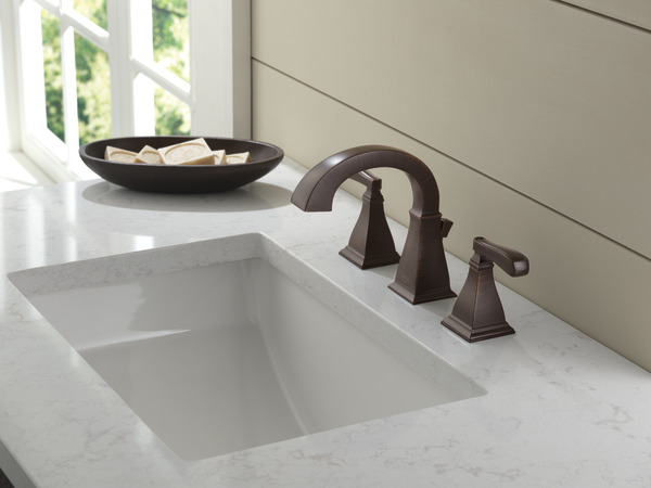 Two Handle Widespread Lavatory Faucet 35717 Rb Dst Delta