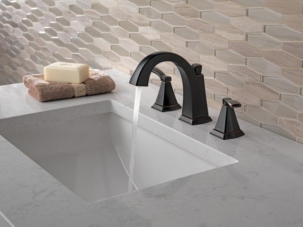 Delta Windemere B3596lf Double Handle Widespread Bathroom: Two Handle Widespread Bathroom Faucet 35768LF-OB