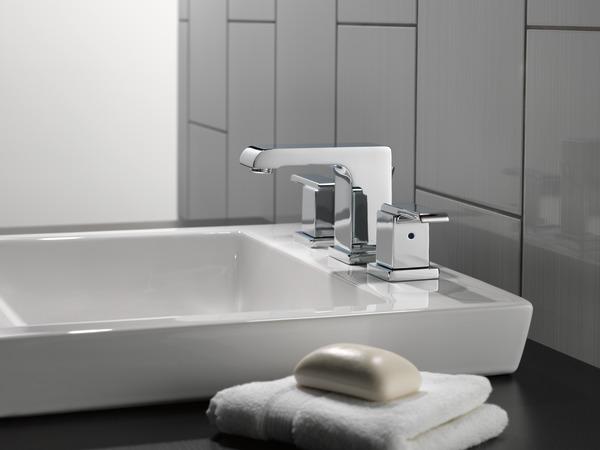 Two Handle Widespread Bathroom Faucet 3586lf Mpu Delta