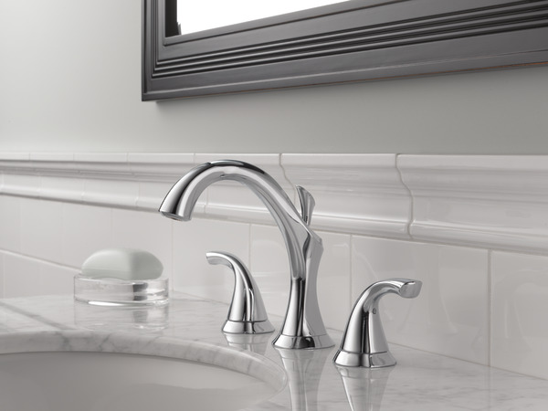 Two Handle Widespread Bathroom Faucet 3592LF | Delta Faucet