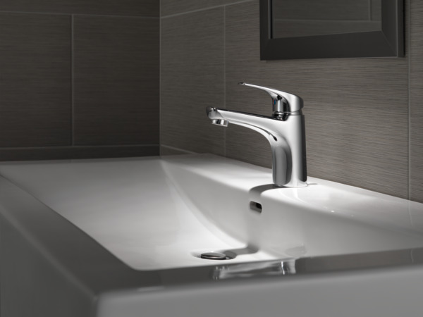 7 Faucet Finishes For Fabulous Bathrooms: Single Handle Project-Pack Bathroom Faucet 534LF-PP
