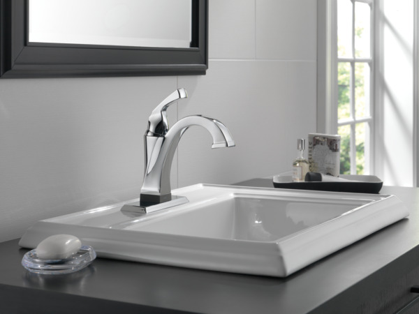 Single handle bathroom faucet with touch2oxt technology 551t dst single handle bathroom faucet with touch2oxt technology publicscrutiny Choice Image