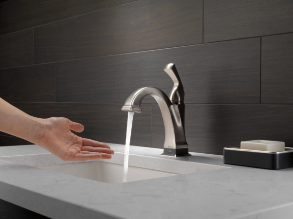 Single handle bathroom faucet with touch2oxt technology 551t ss previous next publicscrutiny Choice Image