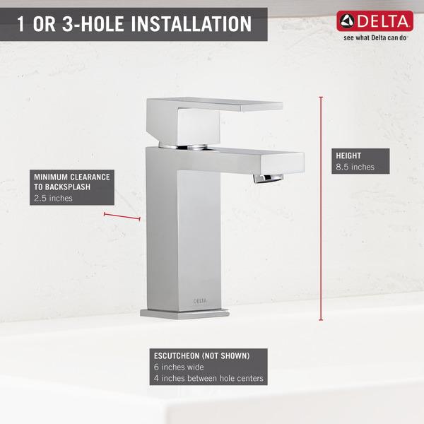Single Handle Project-Pack Bathroom Faucet 567LF-PP   Delta Faucet