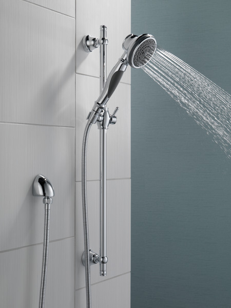 Premium 3-Setting Slide Bar Hand Shower 57021 | Delta Faucet
