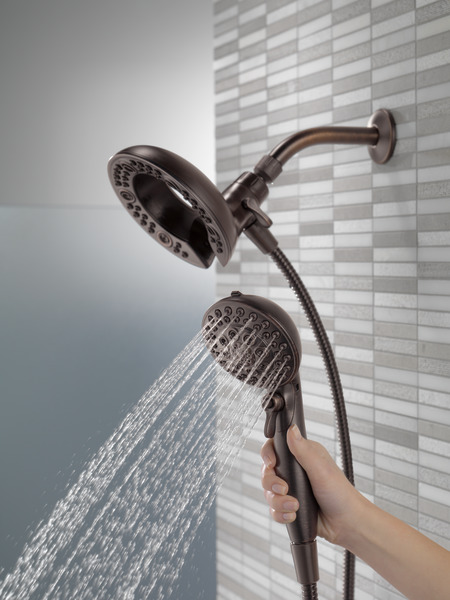 Shower Model 75588rb - in2ition® two-in-one shower