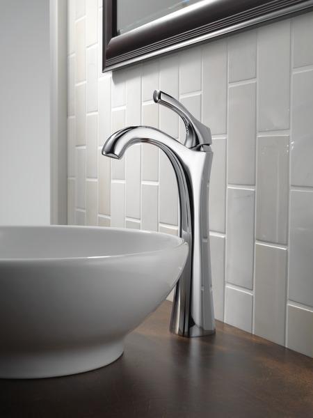Single Handle Vessel Bathroom Faucet 792 Dst Delta Faucet
