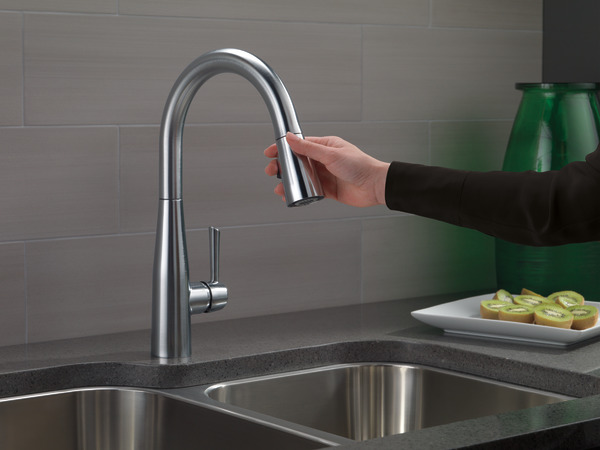 9113-ar-dst - single handle pull-down kitchen faucet