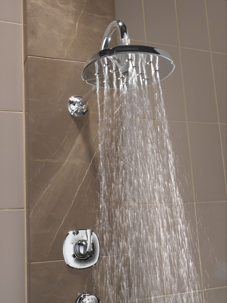 RP61274SS H2Okinetic Single Setting Raincan Shower Head