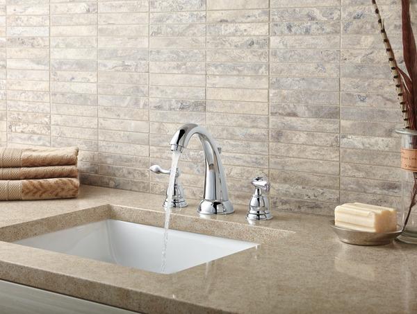 Two Handle Widespread Bathroom Faucet B3596LF