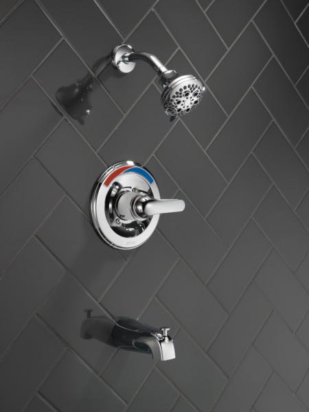 t13491 shh monitor 13 series tub and shower trim. Black Bedroom Furniture Sets. Home Design Ideas