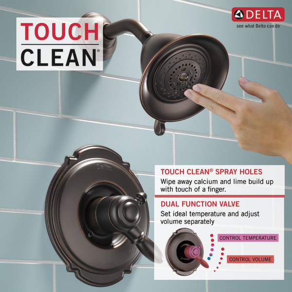 Monitor® 17 Series Shower Trim T17255-RB | Delta Faucet