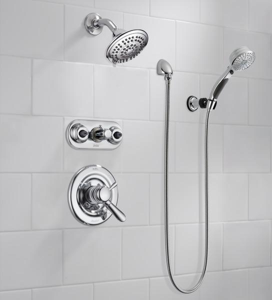 Xo Bathroom Fixtures t17438 - monitor® 17 series tub & shower trim