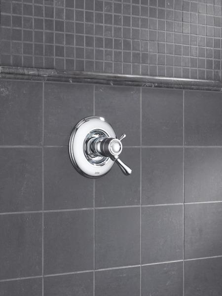 Tempassure 17t Series Tub Shower Trim T17t497 Rb: TempAssure® 17T Series Valve Only Trim T17T078