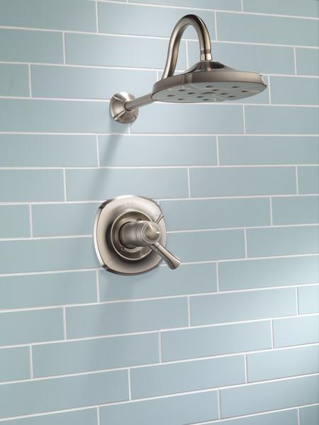 Tempassure 17t Series Tub Shower Trim T17t497 Rb: TempAssure® 17T Series H2Okinetic® Shower Trim T17T292-SS