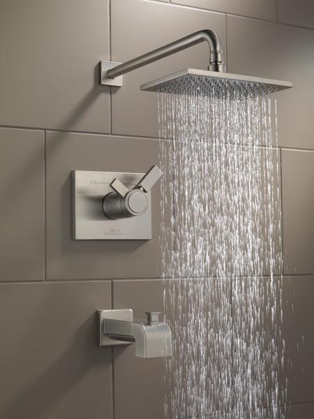 Tempassure 17t Series Tub Shower Trim T17t497 Rb: TempAssure® 17T Series Tub & Shower Trim T17T453-SS