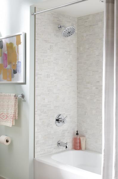 Tempassure 17t Series Tub Shower Trim T17t497 Rb: TempAssure® 17T Series H2Okinetic® Tub & Shower Trim