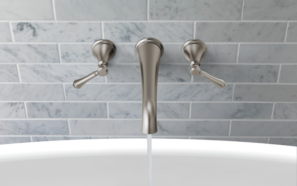 Wall Mounted Tub Filler T5797 Sswl Delta Faucet