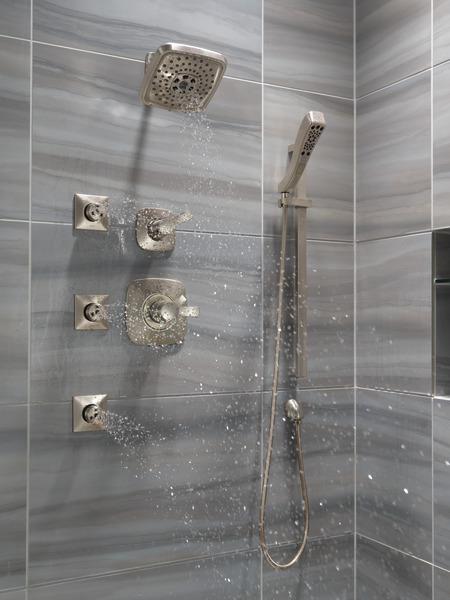 H2okinetic 174 4 Setting Slide Bar Hand Shower 51552 Ss