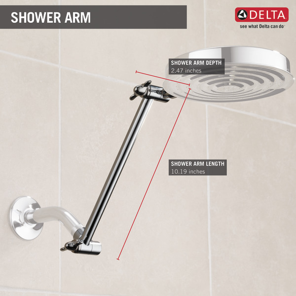 Adjustable Shower Arm UA902-PK | Delta Faucet