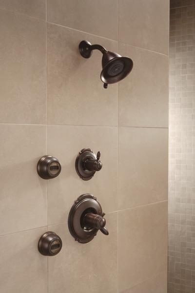 Tempassure 17t Series Tub Shower Trim T17t497 Rb: TempAssure® 17T Series Shower Trim T17T255-RB