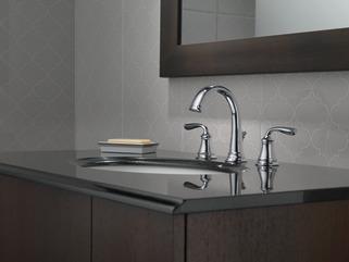Two Handle Widespread Bathroom Faucet 35716lf Delta Faucet