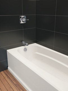 60 Quot X 32 Quot Bathtub Left Drain 40034l Delta Faucet