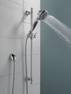 Premium 3 Setting Slide Bar Hand Shower 57021 Delta Faucet