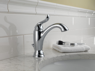 Linden single handle lavatory