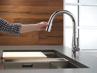 9113 RB DST Single Handle Pull Down Kitchen Faucet