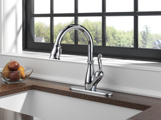 9178-dst - single handle pull-down kitchen faucet