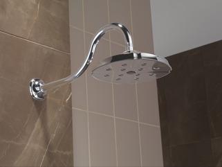 RP61274 H2Okinetic Single Setting Raincan Shower Head