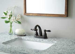 Two Handle Centerset Bathroom Faucet B2596lf Ob Delta Faucet