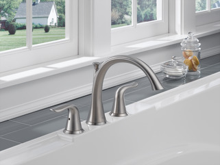 lahara roman tub faucet. Download High Resolution Image T2738 SS  Roman Tub Trim