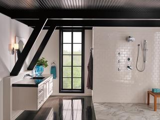 Premium Single Setting Slide Bar Hand Shower 57085 Delta