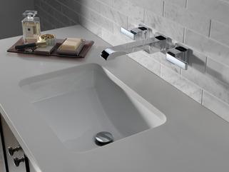 Two Handle Wall Mount Bathroom Faucet Trim T3567lf Wl