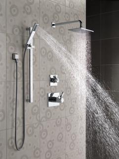 Premium Single Setting Slide Bar Hand Shower 57530 Delta