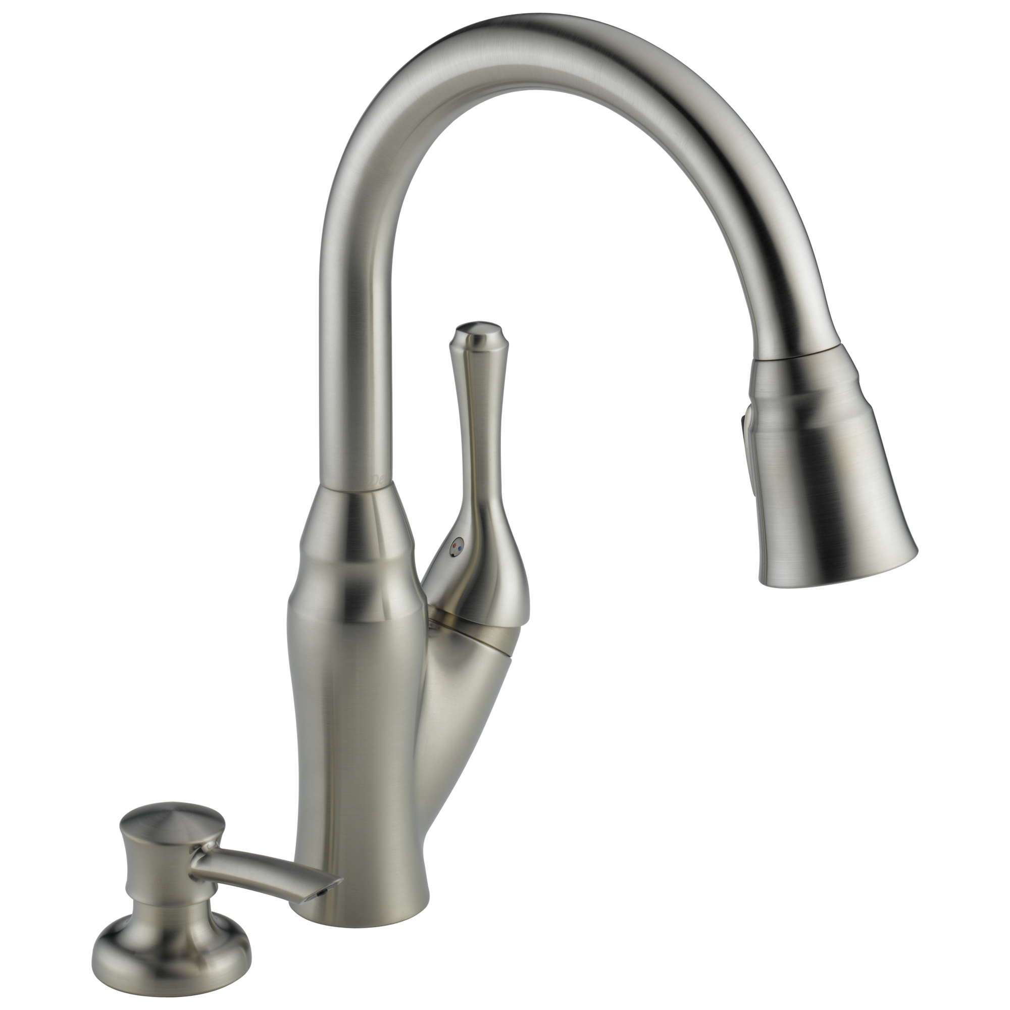 Delta Kitchen Faucet Cartridge 16971 Sssd Dst Pull Down Kitchen Faucet With Integrated Soap