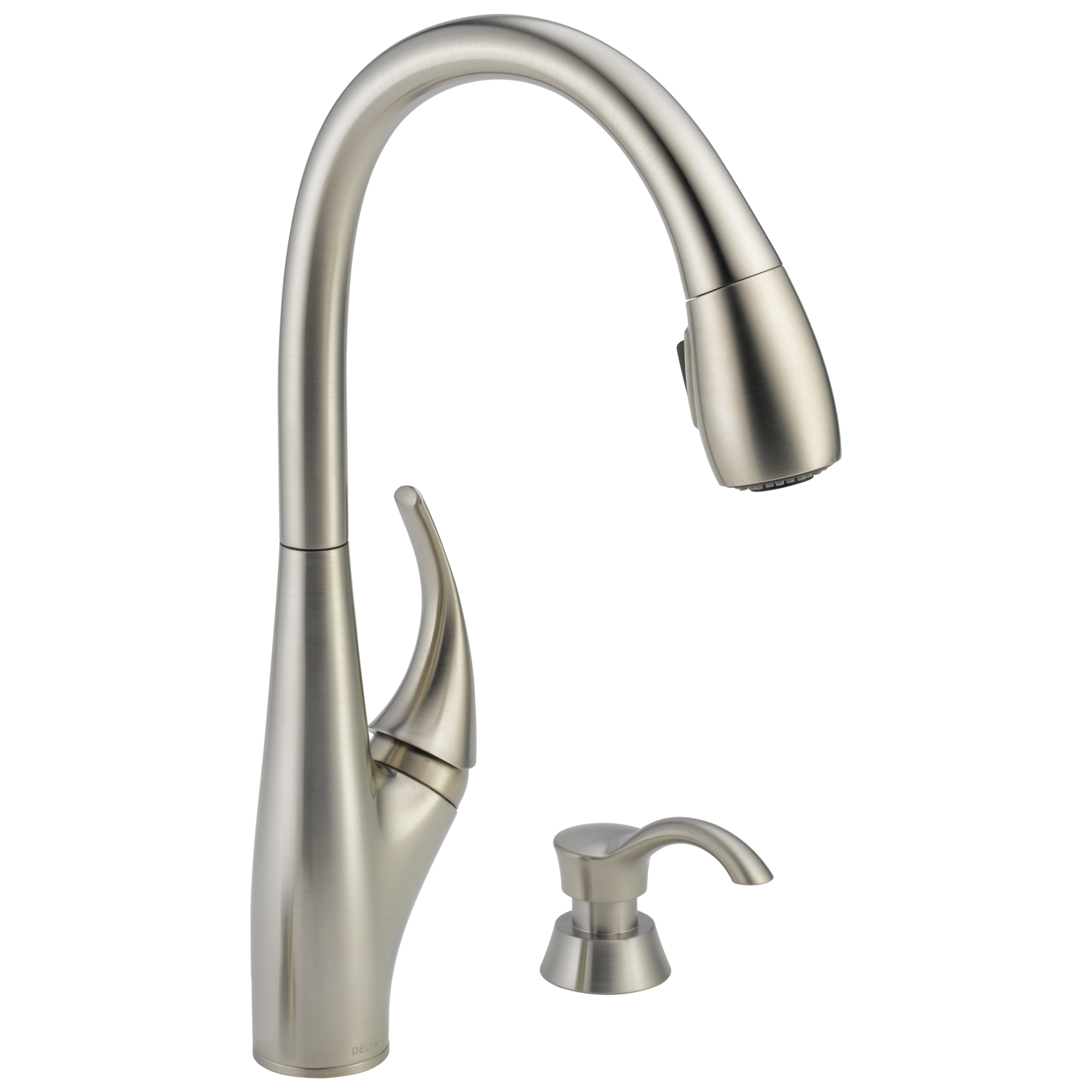19912 sssd dst single handle pull down kitchen faucet