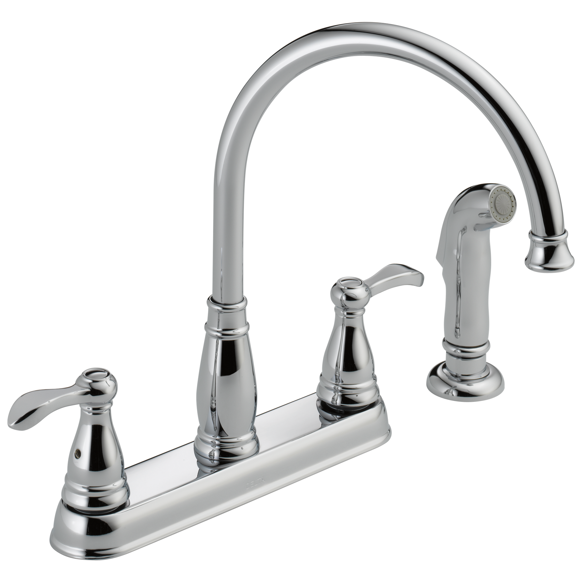 21984lf two handle kitchen faucet with spray download high resolution image
